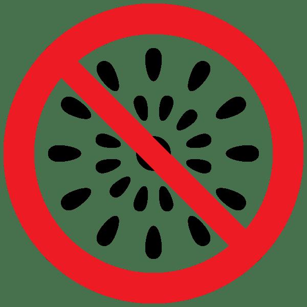 音の出る花火禁止