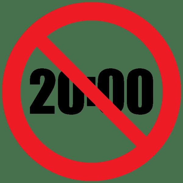 20時以降の禁止行為