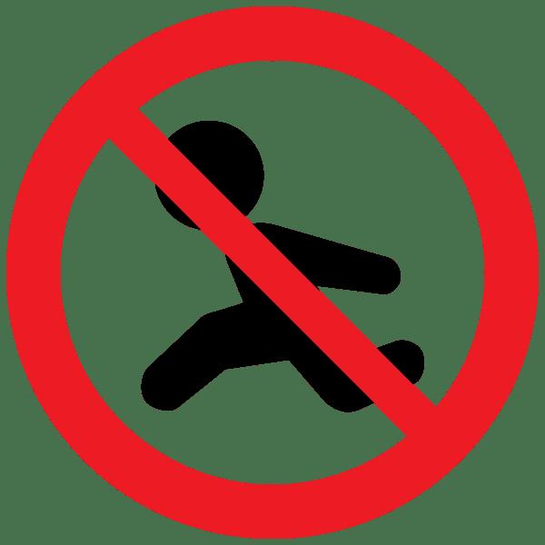 子供の一人歩き禁止